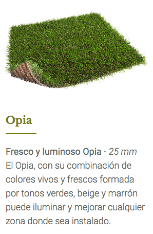 cesped artificial impermeable